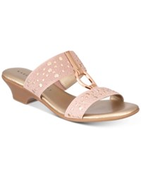 Karen Scott Eanna Sandals Created For Macy's Women's Shoes Rose