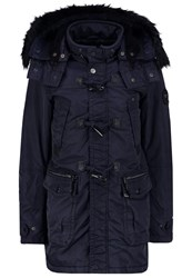 Khujo Seal Winter Coat Navy Dark Blue