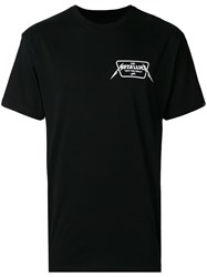 Vans Logo Patch T Shirt Black