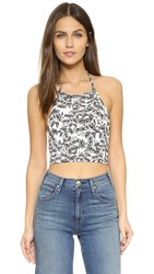 Clayton Nora Top Black Sunflower