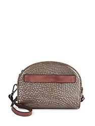 Kooba Ridgefield Dome Leather Crossbody Bag Washed