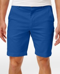 Brooks Brothers Red Fleece Men's Flat Front Cotton Shorts Navy