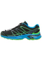 Salomon Wings Flyte 2 Trail Running Shoes Black Cloisonne Classic Green