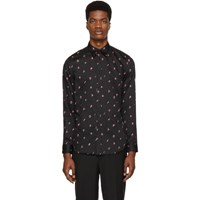 Givenchy Black Letters Shirt