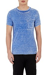 Nsf Men's Burnout Paulie T Shirt Blue