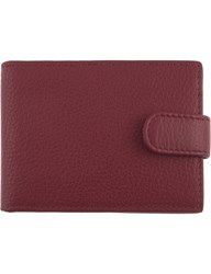 Dents Rfid Protection Leather Cardholder Wallet Berry