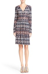 Women's Tory Burch V Neck Jersey Knit Dress