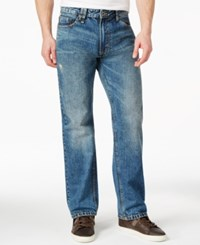 Sean John Hamilton Selvedge Relaxed Fit Jeans Alonzo Wash