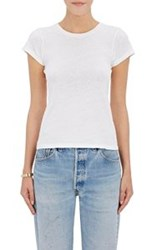 Re Done Women's 1960 Slim Fit T Shirt White