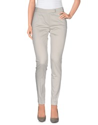Ekle' Trousers Casual Trousers Women Light Grey
