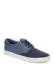 Ben Sherman Ron Colorblocked Lace Up Sneaker Navy