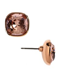 Givenchy Rose Gold Plated Vintage Rose Stud Earrings