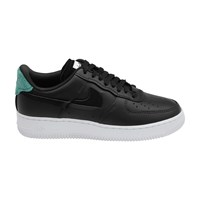 Nike Air Force 1 Lx Trainers Black Anthracite Mystic Green