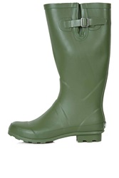 Topshop Jacobson Drizzle Wellies Green