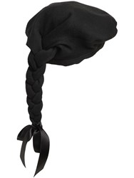 Moschino Wool Felt Beret W Braid
