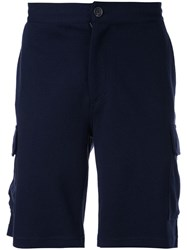 Brunello Cucinelli Cargo Shorts Blue