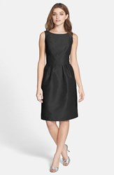 Alfred Sung Women's Boatneck Sheath Dress Black