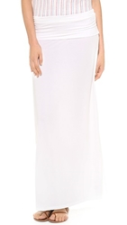 Splendid Maxi Tube Skirt Dress White