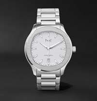 Piaget Polo S Automatic 42Mm Stainless Steel Watch Silver