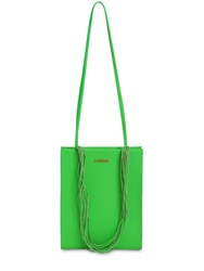 Jacquemus Le A4 Leather Tote Bag Green
