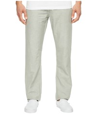 Ag Adriano Goldschmied Graduate Tailored Leg Linen Pants In Sulfur Grey Haze Sulfur Grey Haze Men's Casual Pants Gray
