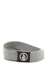 Volcom Circle Stone Web Belt Gray