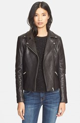 Veda Women's Dallas Lambskin Leather Jacket