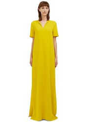 Lanvin Long Oversized T Shirt Dress Yellow