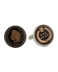 Indian Penny Cuff Links David Donahue