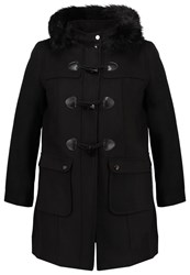 Evans Short Coat Black