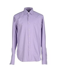 Carlo Pignatelli Shirts Shirts Men Lilac