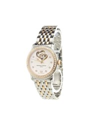 Frederique Constant 'Ladies Automatic World Heart Federation' Analog Watch Stainless Steel