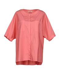 Rosso35 Shirts Pastel Pink