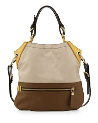 Oryany Sydney Colorblock Tote Bag Natural Multi