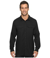 Columbia Silver Ridge Lite Long Sleeve Shirt Black Men's Long Sleeve Button Up