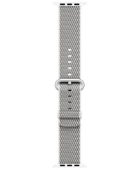 Apple Watch 42Mm Woven Nylon White Check