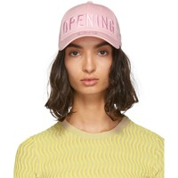 Opening Ceremony Ssense Exclusive Pink New Era Edition 49Forty Logo Cap