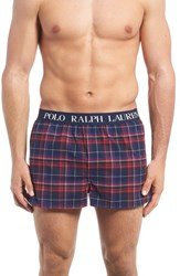 Polo Ralph Lauren Men's Slim Fit Stretch Woven Boxer Shorts