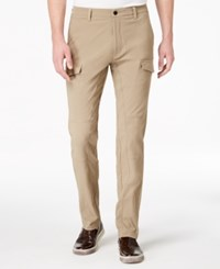 Kenneth Cole New York Men's Tech Panel Cargo Pants Timberwolf