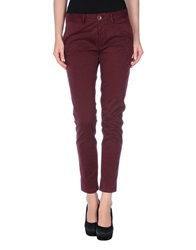 Basicon Casual Pants Maroon