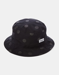The Hundreds Prime Bucket Hat Black