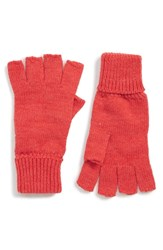 Trouve Basic Fingerless Gloves Blue Camp