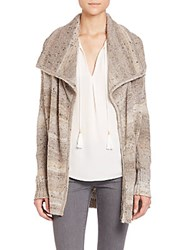 Joie Jamilee Tweed Cardigan Neutral