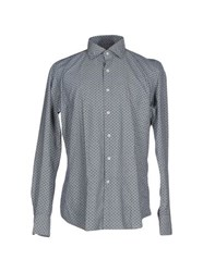 Glanshirt Shirts Shirts Men Dark Blue