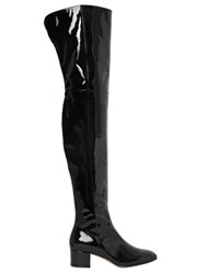 Gianvito Rossi 45Mm Patent Leather Over The Knee Boots