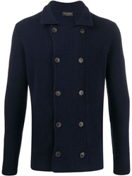 Dell'oglio Double Breasted Knit Cardigan 60