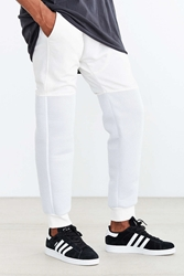 Standard Issue Mesh Jogger Pant White