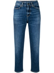 Zadig And Voltaire Cropped Jeans Blue