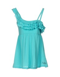 Replay Tops Turquoise