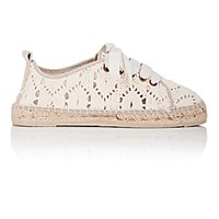 Manebi Women's Los Angeles Espadrille Sneakers Cream